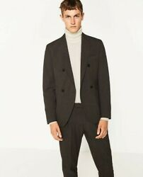 Nwt Zara Man Suits Collection Awand03916 Fall-winter 2016 Collection Us Size 36andnbsp