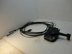 Mercury Mariner Side Mount Outboard Motor Remote Control Box WHarness