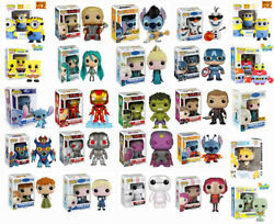 Funko Pop Figures Giant Collection - Choose Your Pop Vinyl - 6 Or Multi Pack