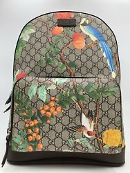 NWT Brand New Gucci Tian GG Supreme Backpack With Box And Dust Bag!!!