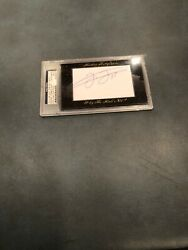 Frank Thomas 6/34 2012 Historic Autographs Why The Hall Not