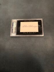 Charlie Gehringer 31/50 2012 Historic Autographs Why The Hall Not