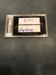 Sutter/wagner 8/20 2012 Historic Autographs Why The Hall Not