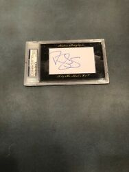 Daryl Strawberry 11/50 2012 Historic Autographs Why The Hall Not