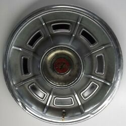 1971 Thru 1973 Mercury Cougar Xr-7 Hubcaps 14 Inch Wheel Cover Original