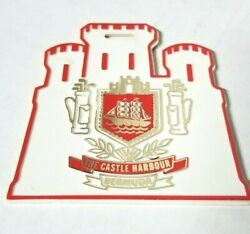 The Castle Harbour Golf Club Retro Golf Bag Tag Ships Free W/buy It Now