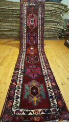 Antique 1900-1930and039s Turkish Herki Runner 2and0399 Andtimes 13and0392