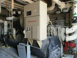 Train 84 Amps 910 Ton Water Chiller 4160 Volts 3 Phase Model# CVHF910