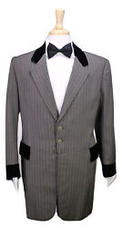 Vintage Made For Ernie Kovac In North To Alaska 1890and039s Style 3-pc Bespoke Suit