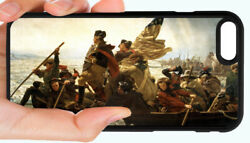 George Washington Delaware Phone Case For Iphone Xs Xr Xs 8 7 6s 6 Plus 5s 5c 4