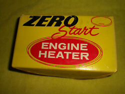 Engine Freeze Plug Block Heater, Will Work In Many Engines 115 Volt Plug In