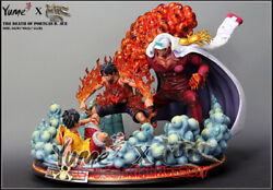 One Piece Mrcandyume The Death Of Portgas D.ace Large Resin Limited Gk Statue