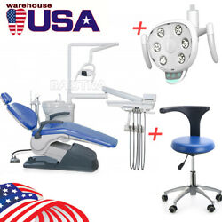 Dental Computer Controlled Unit Chair With stool TJ2688-A1 + Oral lamp LED Light