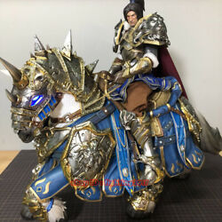 Coreplay World Of Warcraft 1/6 Allied War Horse Lich King Resin Statue In Stock