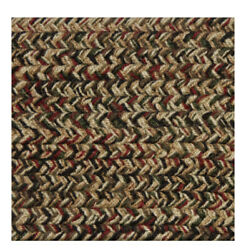 Green Red Black Brown Braided Area Rugs By Colonial Rug--many Sizes 475