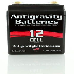 Antigravity Batteries Ag-1201 Lithium Battery 12 Cell Small Case Motorcycle