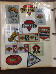 Coal Mine Lot Of 450+ Mining Advertisement Stickers Decals Collection B29 Read