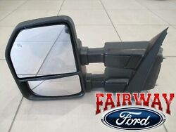 17 Thru 21 Super Duty Oem Ford Power Fold Signal Memory Tow Mirror Lh Driver New