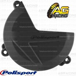 Polisport Black Clutch Cover Protector For Sherco SEF 450 2016 Enduro