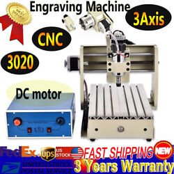 3Axis CNC3020 Router Engraver Wood Working Drill Mill Engraving Machine DC motor