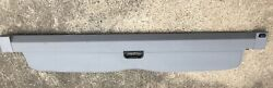 ✅ 04-06 BMW E53 X5 Rear Trunk Cargo Privacy Security Shade Cover Panel Gray OEM