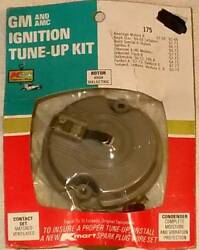 GM and AMC Ignition Tune-Up Kit 175 Rotor High Dielectric Contact Set Matched Ve