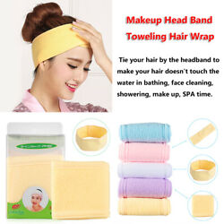 Beauty Salon SPA Yoga Adjustable Toweling Hair Wrap Hairband Makeup Head Band