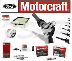 Motorcraft Tune Up Kit 1998-2002 Ford Crown Victoria4.6l V8 Ignition Coil Dg508