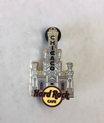 Hard Rock Cafe Chicago Water Tower Pin Rare Misspelled Chicaco Edition 2007