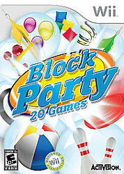Block Party for Nintendo Wii WII Strategy Puzzle Video Game $5.24