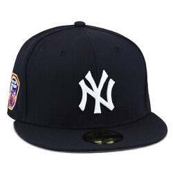 New Era New York Yankees Fitted Hat All NavyWhite
