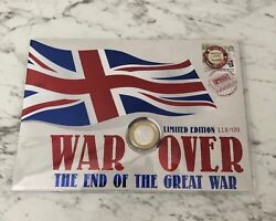 2018 Australia War Over The End of the Great War limited edition PNC 118/120