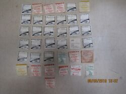 Watch Glass Crystal Callender Date Job Lot Of 37 New Mixed Spare Replacement