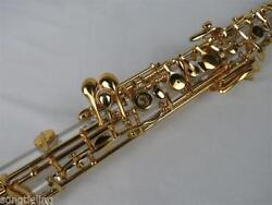 Great Concert Crystal Tube Body Semiautomatic Oboe Gold Plating C Key Pro Oboe