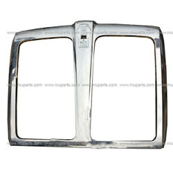Grille Without Bug Net Plastic In Chrome Fit 2013-2019 Kenworth T680