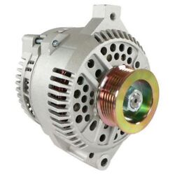 Alternator For Ford Mustang One Wire 1-wire Hi Output 250 Amps 1965-1996