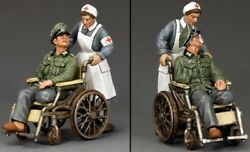 King And Country Ww2 German Army Wh009 Disabled Officer And Nurse Mib