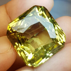 GIA CERTIFIED 80.15Cts High Sparkling  Unheated Chrysoberyl