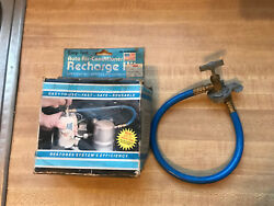 Easy Test Auto AC Air Conditioner Recharge Hose kit for R12 Systems