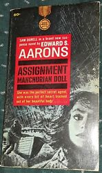 Assignment Manchurian Doll By Edward S Arrons Gold Medal Pb 1963