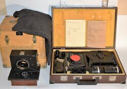 Exc Never Used Collectible Ussr Selena Mvd Police Camera Real Full Set