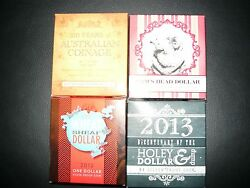 2010,2011,2012,2013 One Dollar Fine Silver Proof Coin-only12,500 Issued