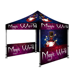 10and039x10and039 Custom Pop-up Canopy Outdoor Commercial Tent Instant Gazebo Canopies