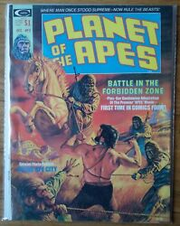 Planet Of The Apes 2 Marvel Curtis Magazine Comics 1st Printing 1974 Vf/8.0