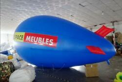 3m 10ft Giant Inflatable Advertising Blimp /flying Helium Balloon/free Logo Y