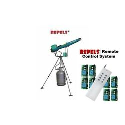 Bird Wildlife Scare Propane Electronic Cannon with Remote Control