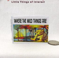 Where The Wild Things Are 16 Scale Readable Book Blythe Momoko Pullip Barbie