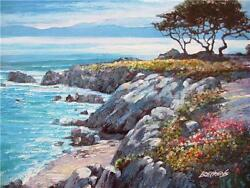 Howard Behrens Monterey Bay After The Rain Heavily Embellished List 3750 Hs/