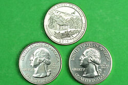 2014-p D S Bu Mint Stategreat Smoky Mountainsnational Park Quarters3 Coins
