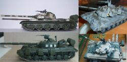 1/72 T-90 or -80 or -72 or -64 or -62 Soviet tank Die Cast model